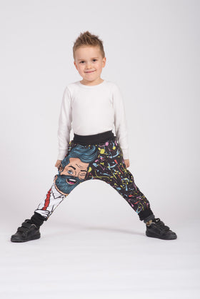 Pantalón Baggy Fishikii Magic para niños | PANN.16
