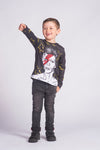 Camiseta Manga Larga Fishikii Infantil David B. | CAMN-LARGA.14