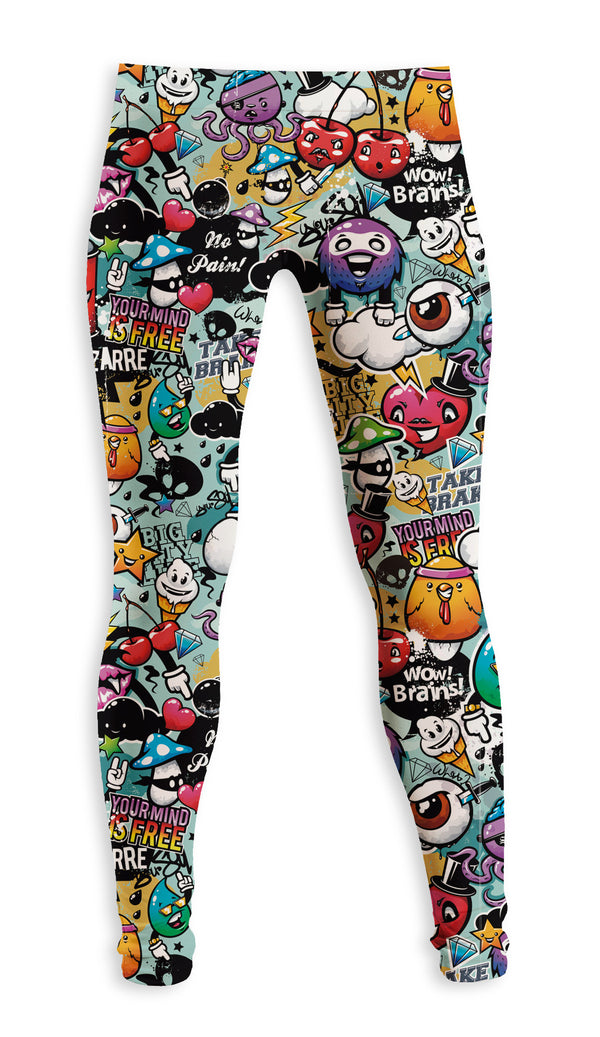 Legging Fishikii Brains | LEG.103