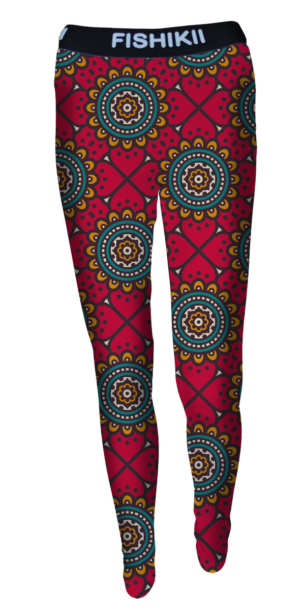 Legging Fishikii  Retro paint | LEG.119