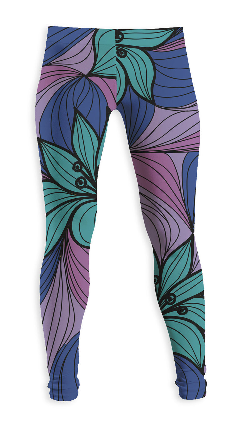 Leggings Fishikii Flowers | LEG.39