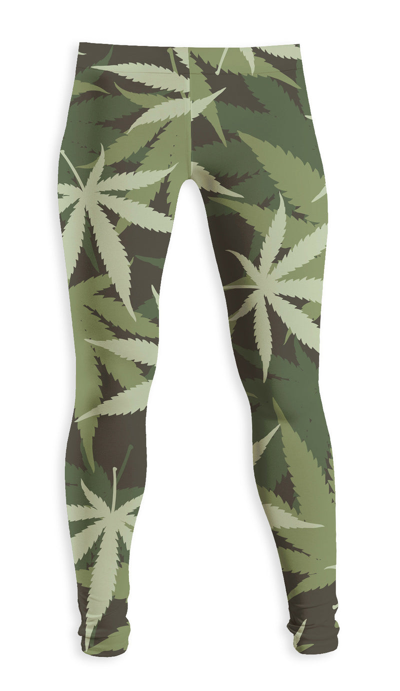 Leggings Fishikii Weed | LEG.40