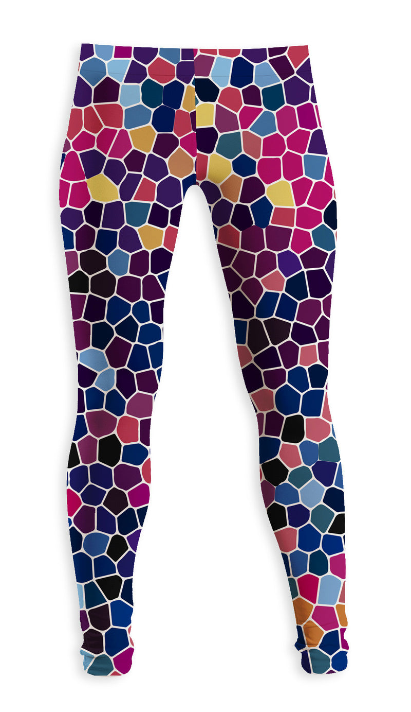 Leggings Fishikii Mosaicos | LEG.43