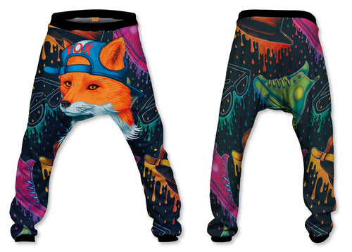 Pantalón Baggy Unisex Fox| PANH-BAG.31