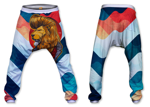 Pantalón Baggy Unisex Fishikii Lion  | PANH-BAG.40
