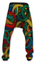 Pantalón Baggy Unisex Fishikii Calavera Colors | PANH-BAG.46