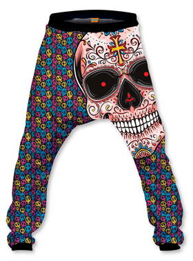 Pantalón Baggy Unisex Fishikii Mexican Skull | OUTLET-PANH-BAG.62