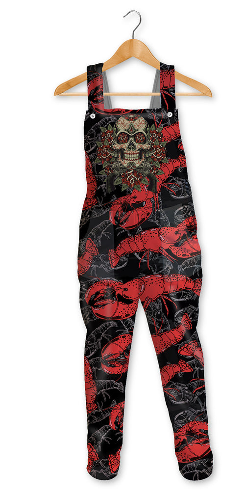 FISHIKII JUMPSUIT HOMBRE Infierno rojo| PANH-PETO.10