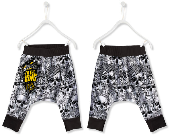 Pantalón Baggy Fishikii  I'm the King para niños | PANN.25