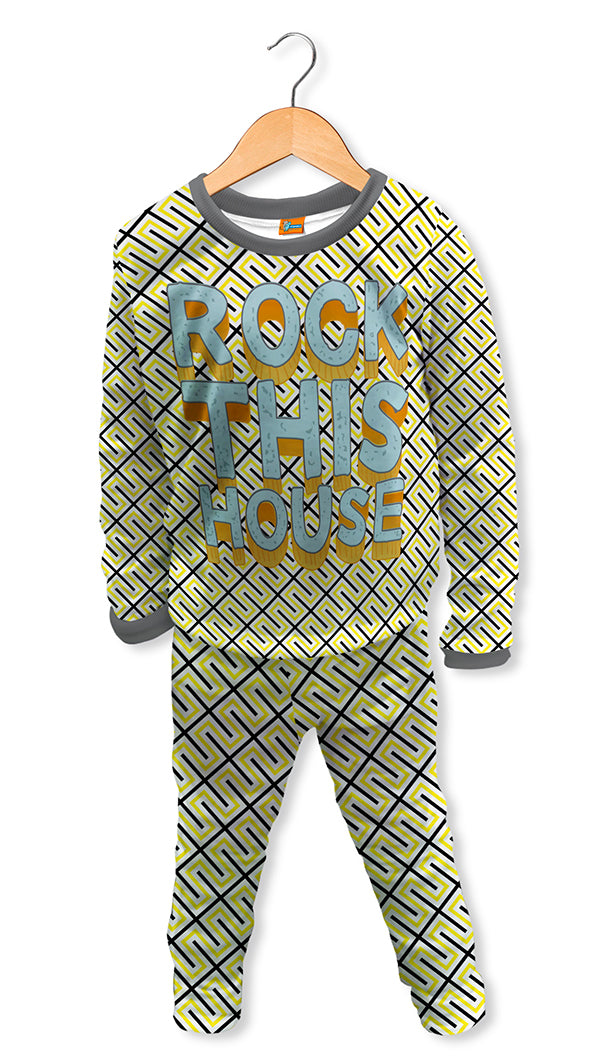Pijama infantil Rock this house| PIJN.08