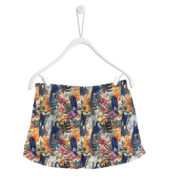Short de Baño Fishikii Papagayo Tropical | SHORT-H.02