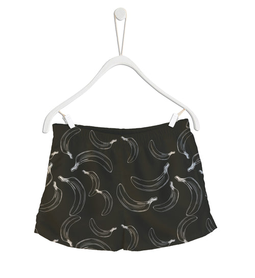 Short de Baño Fishikii B&W Bananas | SHORT-H.03