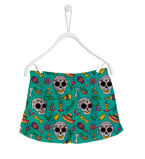 Short de Baño Fishikii Mexican Drawing | SHORT-H.09