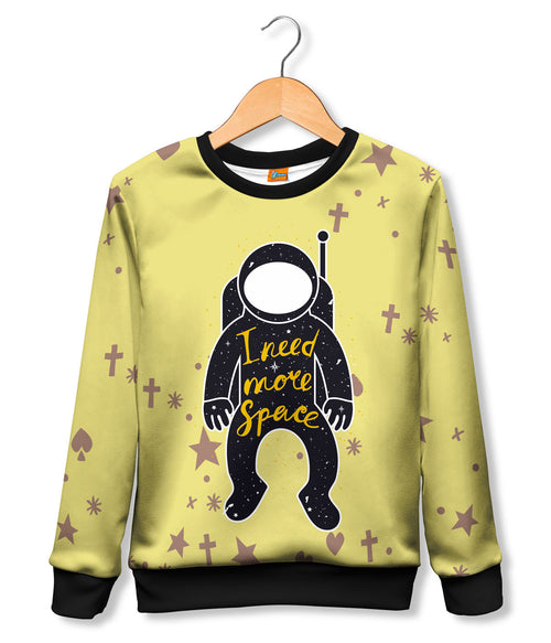 Sudadera Fishikii I Need More Space para niños | SUDN.22