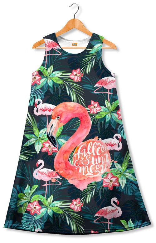 Vestido Fishikii FLAMENCO TROPICAL| VEST.30