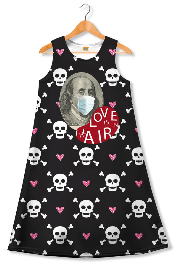 Vestido suelto mujer Fishikii Love is in the Air | VEST.49