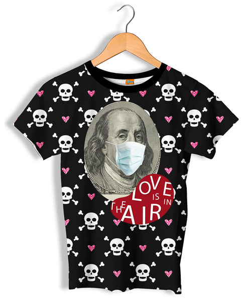 Camiseta Fishikii Love is in the Air Unisex | CAM.394