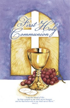 I Am The Bread of Life - First Holy Communion Bulletin