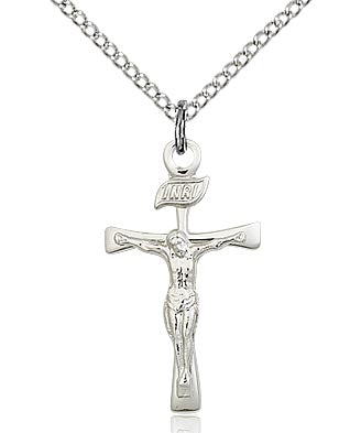 Bliss Sterling Silver Maltese Crucifix