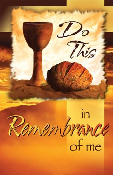 Do This In Remembrance Of Me - Communion Bulletin