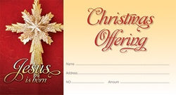 Jesus is Born - Christmas Offering Envelope