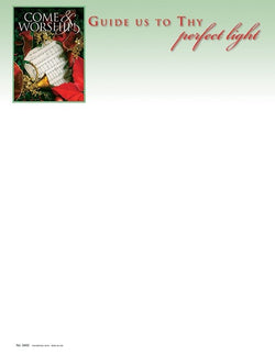Come & Worship - Christmas Letterhead