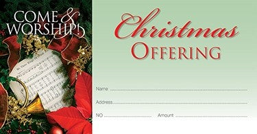Come & Worship - Christmas Offering Envelope