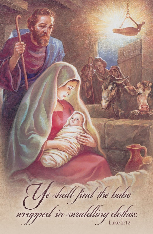 Ye Shall Find the Baby - Christmas Bulletin