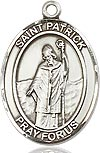Bliss Saint Patrick Medal and Chain