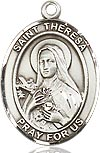 Bliss Saint Theresa Medal and Chain (24