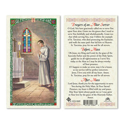 Altar Server Prayer Card