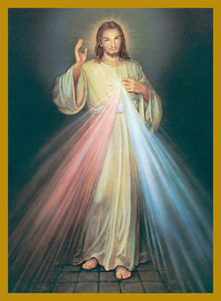 Mass Card - Divine Mercy - BOX