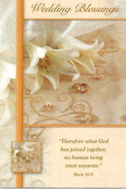 Greetings of Faith - Wedding Blessings - Greeting Card