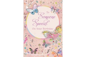 Greetings of Faith - To Someone Special on Your Birthday - Greeting Card