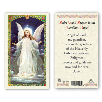 Guardian Angel Padre Pios Prayer to