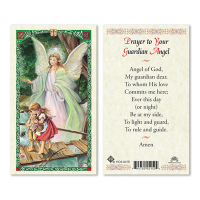 Prayer to Your Guardian Angel (Traditional Prayer)