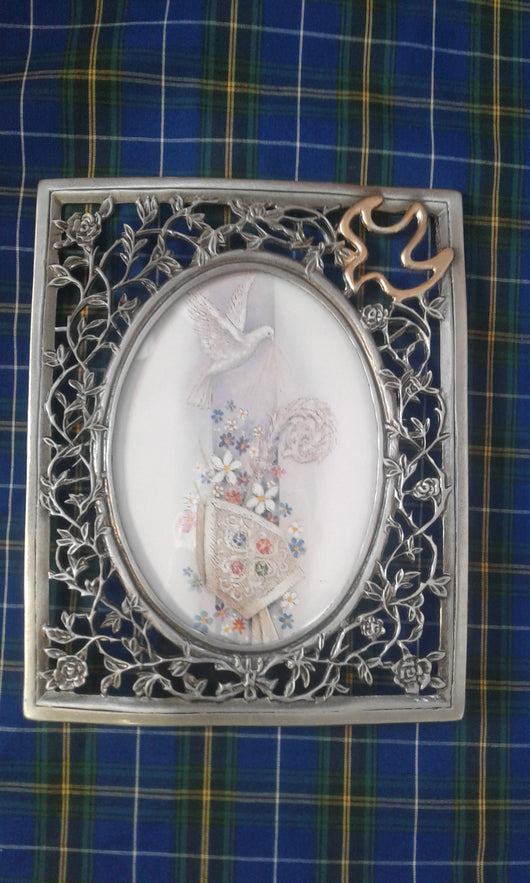OCI Pewter Confirmation Photo Frame