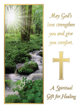 Mass Card - A Spiritual Gift of Healing - SINGLE