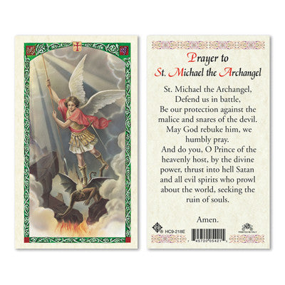 St. Michael the Archangel Traditional Prayer