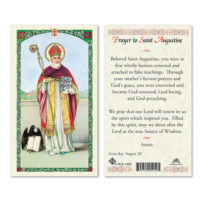 St. Augustine, Prayer to