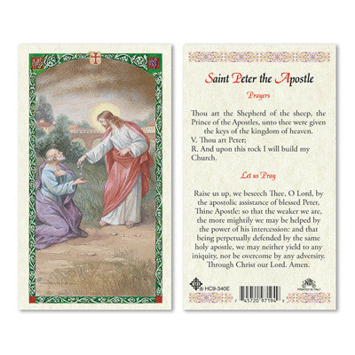 St. Peter the Apostle Prayer Card