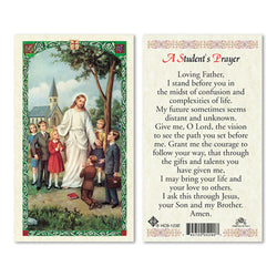 A Student's Prayer (Prayer Card)