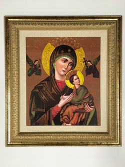 Our Lady of Perpetual Help - framed print
