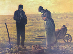 Angelus by Millet (Prayers and Potatoes) - print