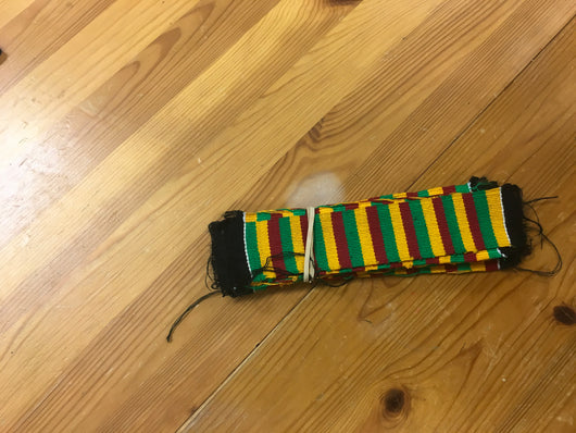 Kente bookmark