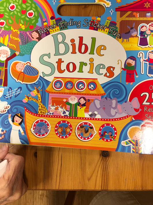 Never Ending Sticker Fun Bible Stories