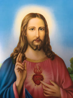 Sacred Heart of Jesus - print