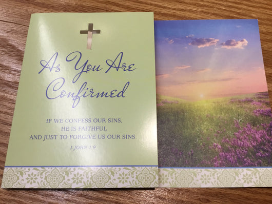 Greeting Card - Confirmation