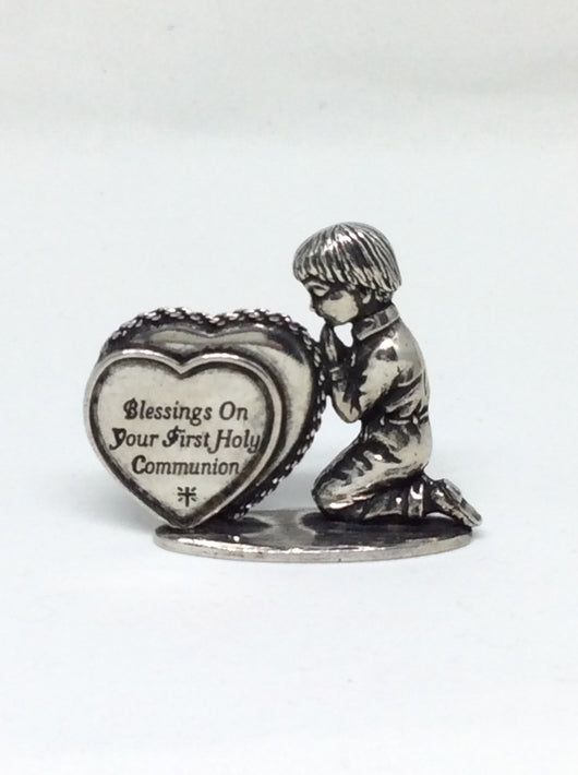 OCI - Pewter Boy First Holy Communion