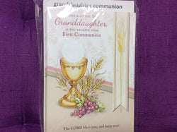 Especially for you Granddaughter as you receive Your First Communion